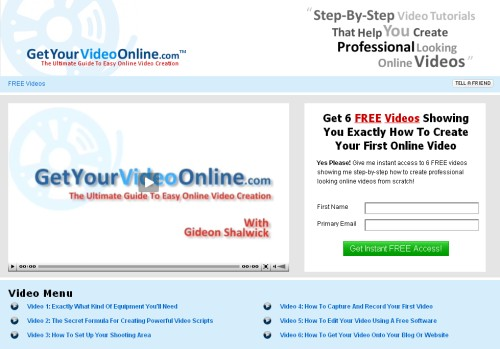 Get Your Video Online