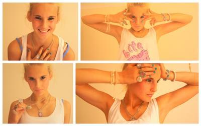 Some of my jewellery.