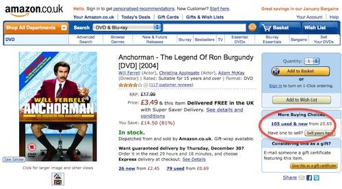 Amazon used items